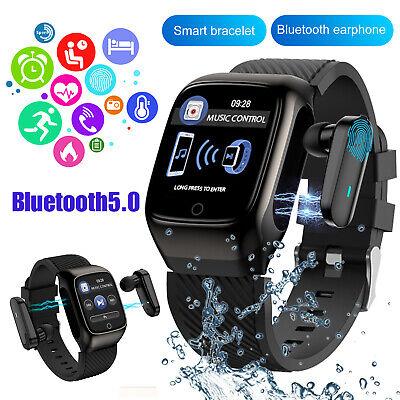 2 in 1 smart watch tws earbuds