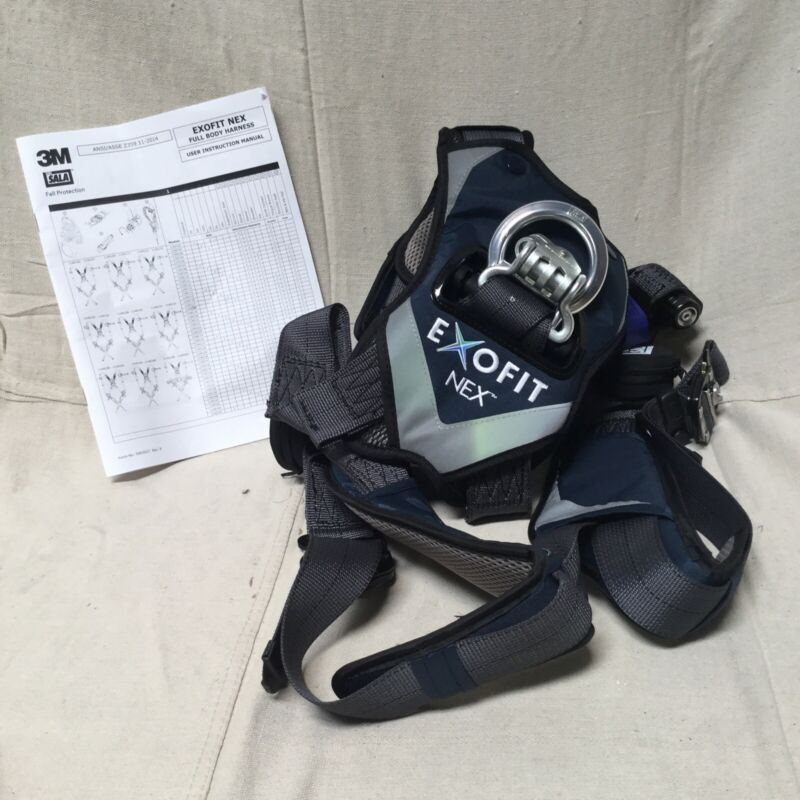 3M DBI-SALA 1140108 Full Body Harness 420 lb Gray XS