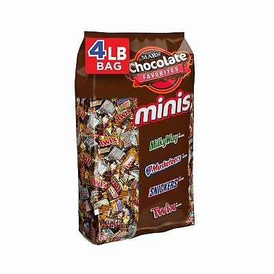 SNICKERS, TWIX, 3 MUSKETEERS & MILKY WAY Minis Size Candy Variety Mix, 240 Pi... (Halloween 3 Musketeers Candy)