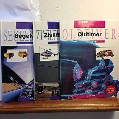 Bücherpaket: Segelschiffe/Zivilflugzeuge/Oldtimer - Moewig