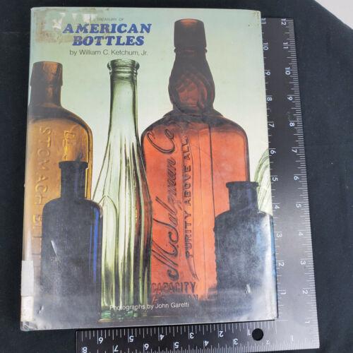 Treasury of American Bottles William C. Ketchum Jr. Ex Library Book