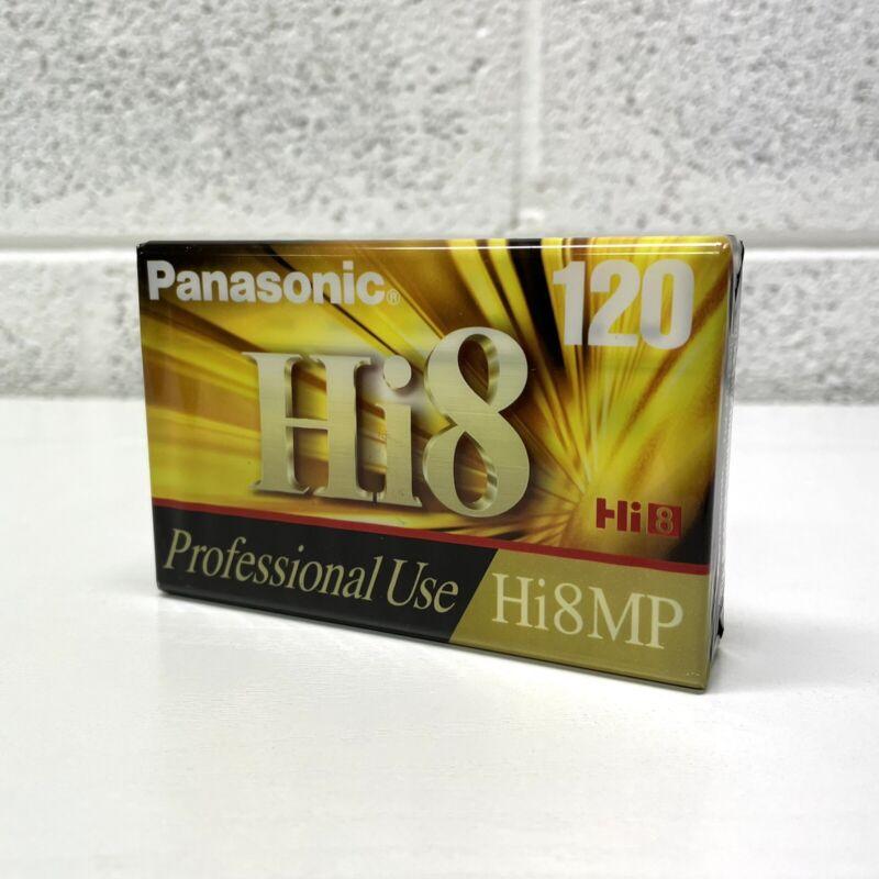 NEW Panasonic Hi8 MP 120 Professional Use 8mm Camcorder Video Tape SEALED