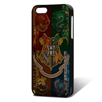 Harry Potter Hogwarts House Badges *UNOFFICIAL* Phone Case, Fits iPhone