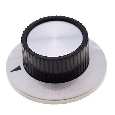 Potiknopf 37mm Drehknopf Reglerknopf  Alu Schwarz Potentiometer mit 6,35mm Achse online kaufen