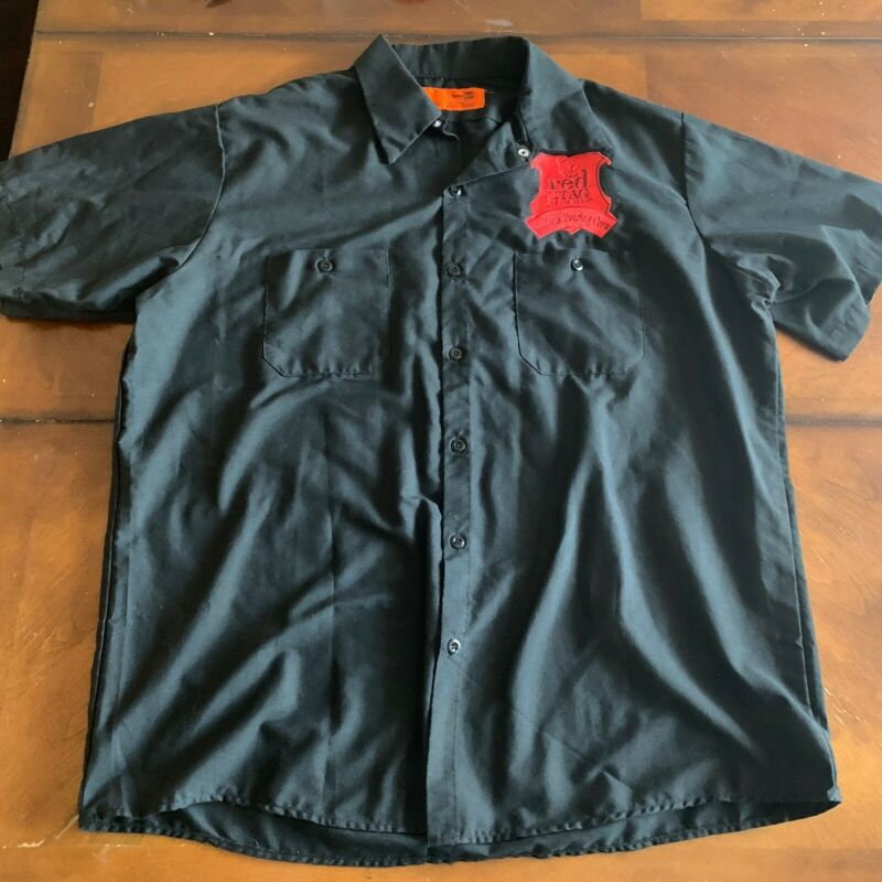 KID ROCK BORN FREE 2011 TOUR BLACK  WORK SHIRT ISSUED TO CREW SIZE XL