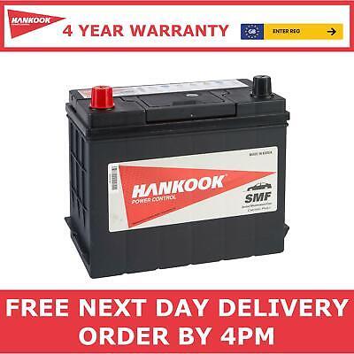 Hankook Type 015 / 038 Starter Battery, Sealed & Maintenance Free 12V 38Ah