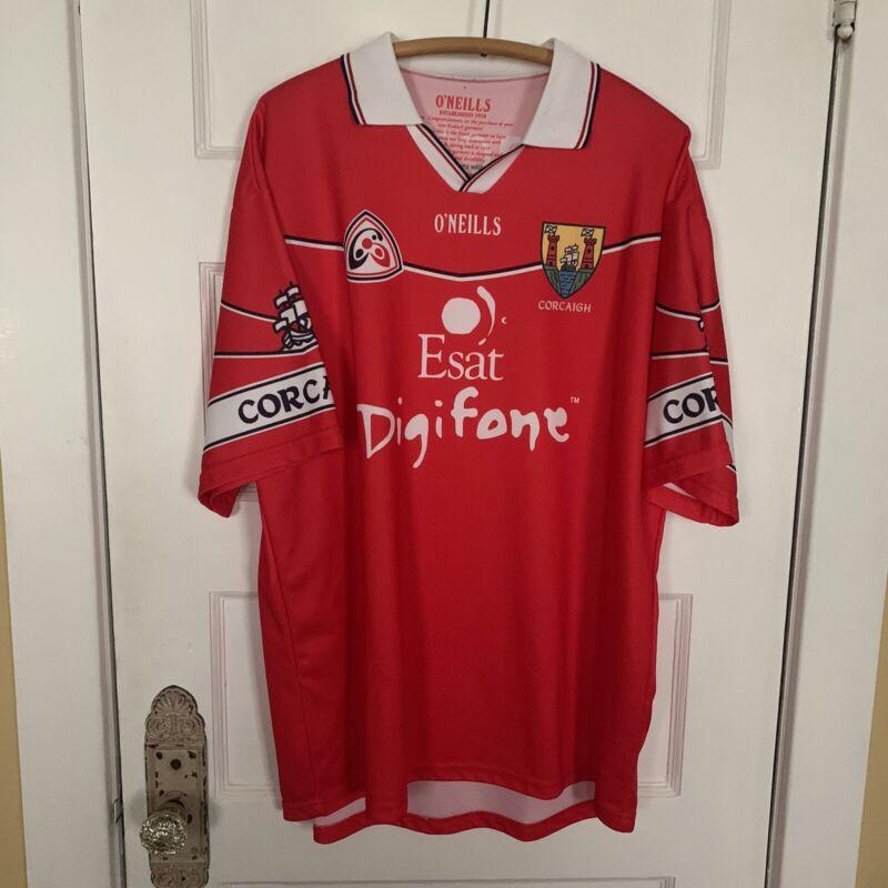Ireland GAA International Gaelic Celtic Football Shirt Jersey ONeills Corcaigh