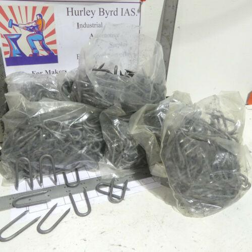 "Qty 800 - 17 Pounds - 2"" Galvanized Fencing Staples - 100 Per Bag"