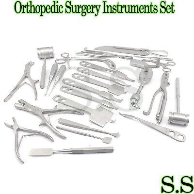 Orthopedic Surgery Instruments Set Bone drill Bone saw, used for sale  Miami