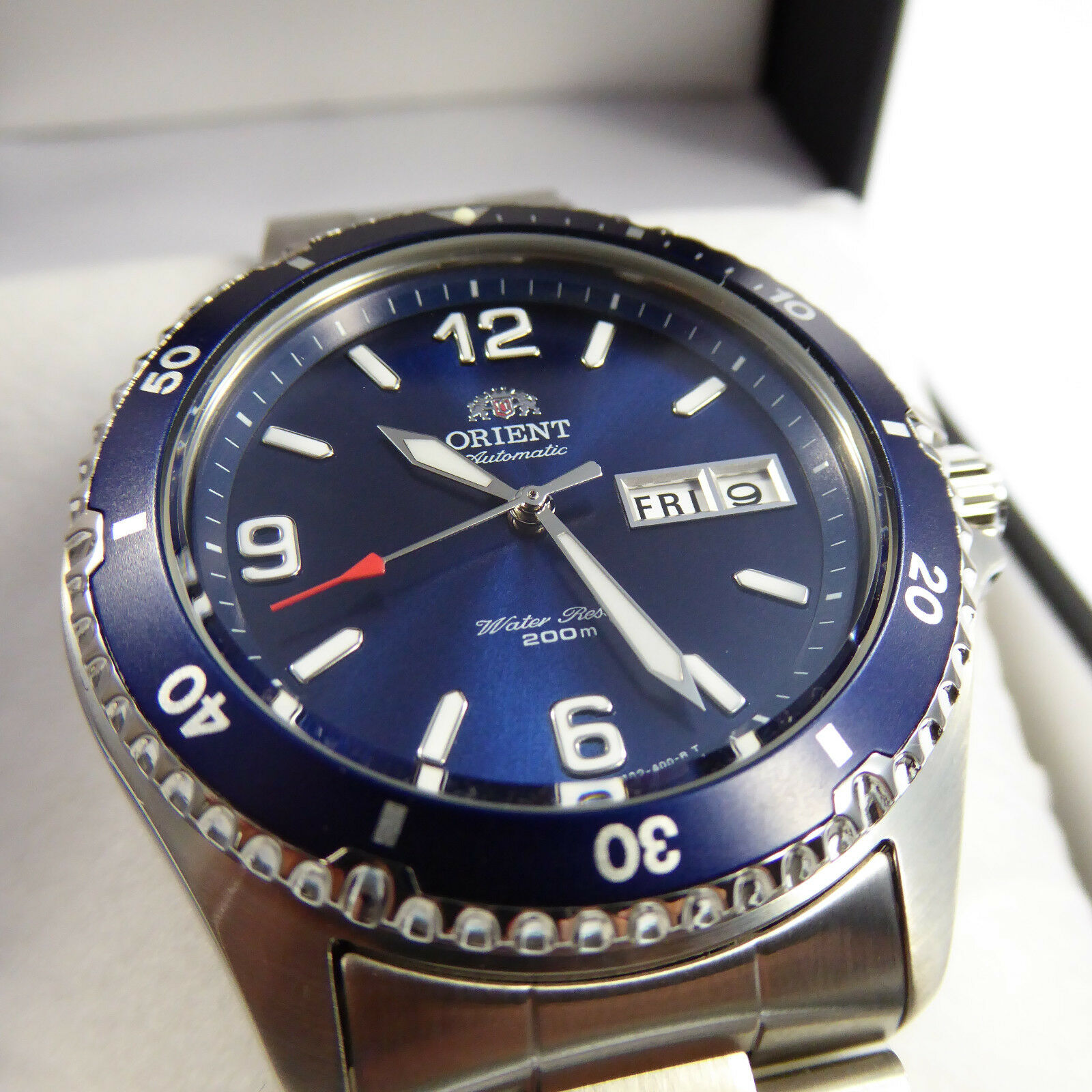BEST PRICE! Orient Mako 2 II blau FAA02002D9 Watch Automatik Herren Taucher Uhr
