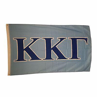 Kappa Kappa Gamma Letter Flag 3' x 5'