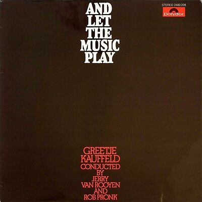 Greetje Kauffeld – And Let The Music Play 1974 Polydor 2480 228 Germany  BOSSA!