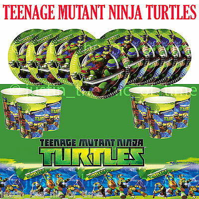 TEENAGE MUTANT NINJA TURTLES Supplies Boys Childrens Birthday Party Tableware