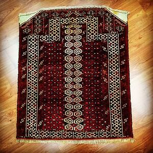 Beautiful Small Persian Wool Hand Knotted Rug