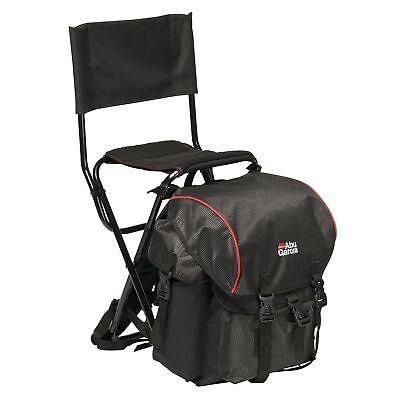 Rucksack Klappstuhl (ABU Garcia Rucksackstuhl Standard mit klappbarer Rückenlehne Rucksack Stuhl)