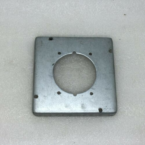 4X4 METAL COVER FOR DRYER PLUG