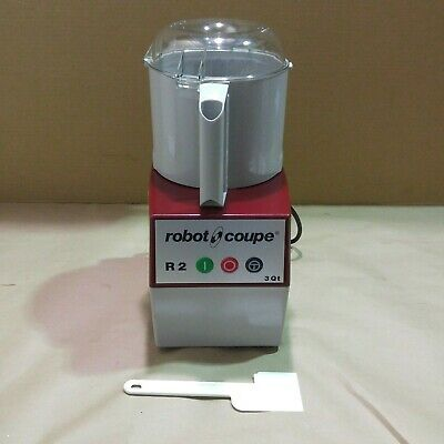 Robot Coupe R2b Food Processor Commercial Cutter Mixer 3 Qt Bowl