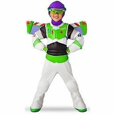Toy Story Buzz Lightyear Toddler Halloween Costume (Toy Story 3 Disney Halloween Buzz Lightyear Costume Wings Space Ranger)