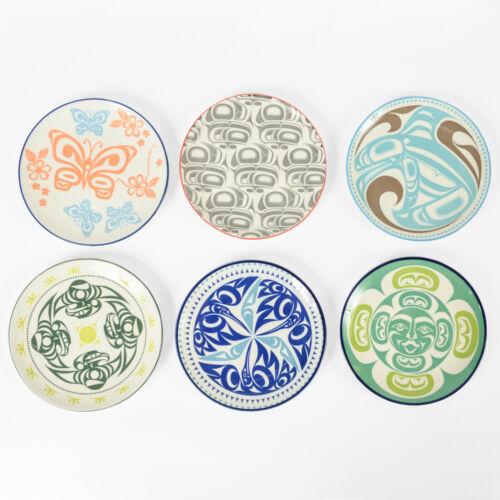 Northwest Coast Native Porcelain Art Plate