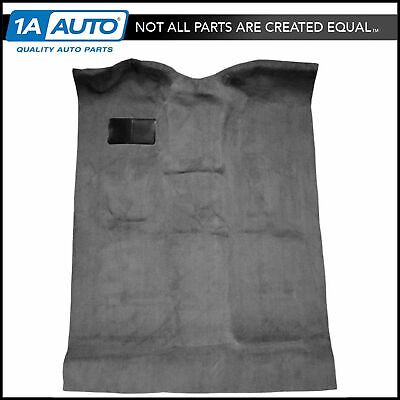 Complete Carpet 801-Black Cutpile for 1999-06 Chevy Silverado 1500 Extended Cab