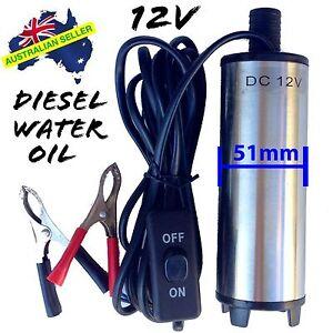 12v-Submersible-Transfer-Pump-Fuel-Diesel-Water-Oil-FAST-POST-WARRANTY