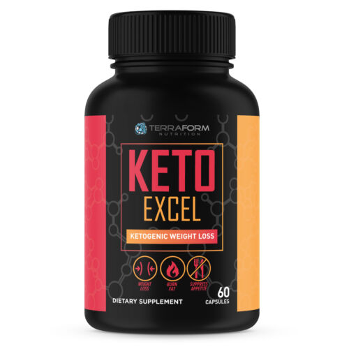 Keto Excel – Powerful Keto Diet Weight Loss Supplement – 1 Month - USA Made