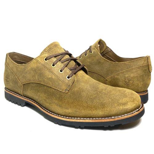 mens kendrick waterproof logo oxford shoes brown