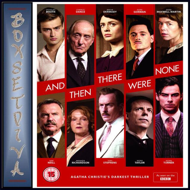 AND THEN THERE WERE NONE - AGATHA CHRISTIE'S DARKEST THRILLER *BRAND NEW DVD***