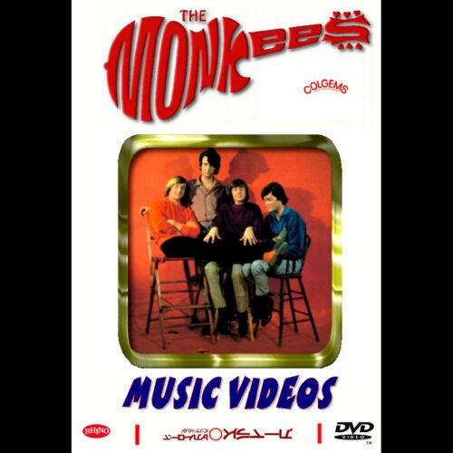 The Monkees Music Videos 2 Disc DVD Set RARE!