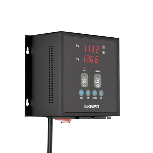 INKBIRD PID Temperature controller 15A heater Thermostat AC 110V Pump Control US