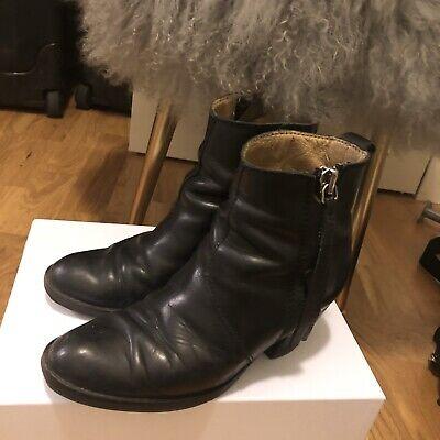 Acne Studios Women's Pistol Boots Black Size US 7 EU 37
