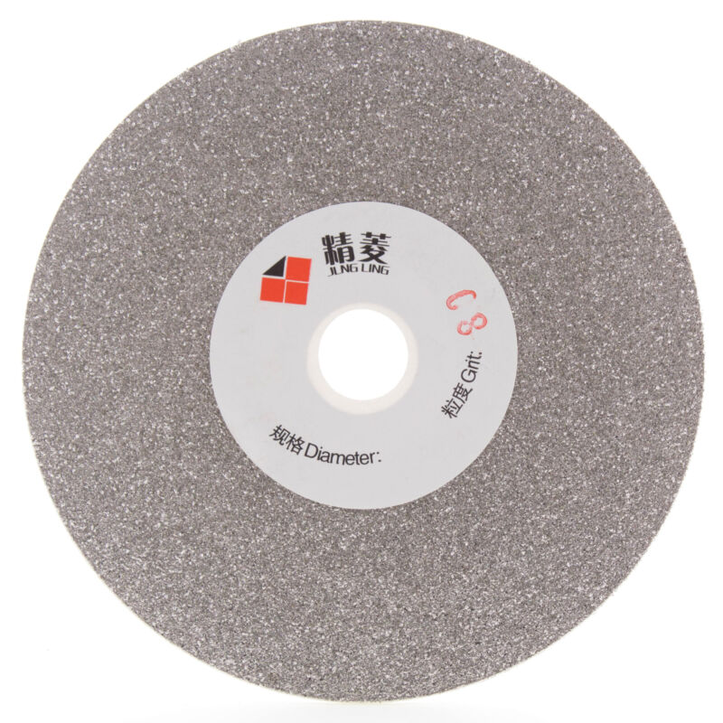 6 inch Diamond Grinding Wheel 80-3000 Grit Coated Flat Lap Disk Lapidary Tools