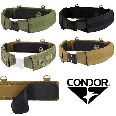 Condor Tactical MOLLE Webbing Modular Nylon Gear Battle Padded Outer Belt 121160