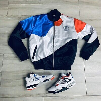 Bomber Jacket to match Air Jordan Retro 4 What The. E Bomber (The New Pakistan)