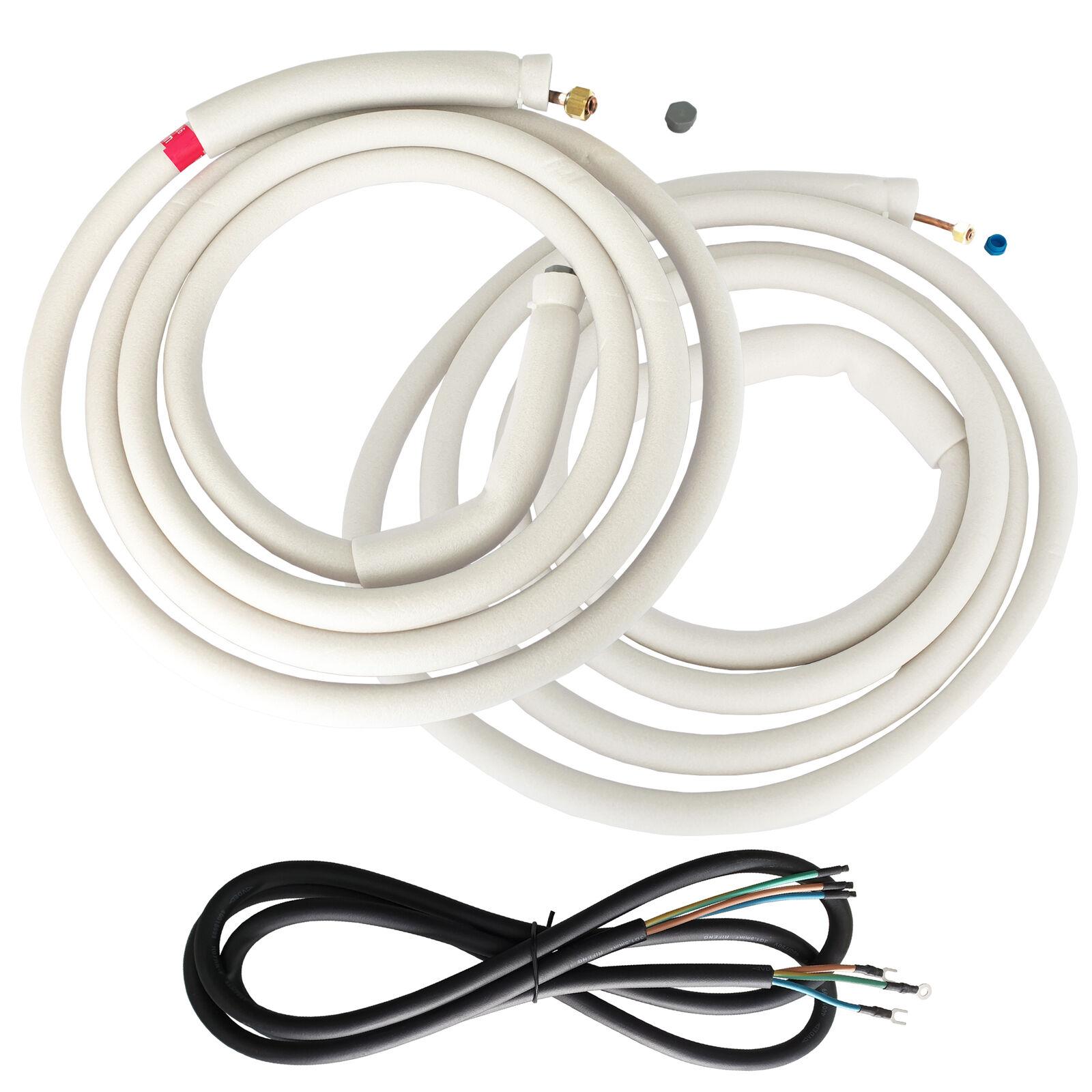 VIESTA Montage Set für Klimaanlage Klimagerät 2x5m Kältemittelleitung 1/4