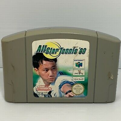 All Star Tennis 99 - PAL - Nintendo 64 N64 - Tested & Working - Free Postage