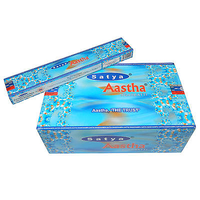 180g Satya Aastha Räucherstäbchen Nag Champa Duft  Aroma PORTOFREI Dekoration