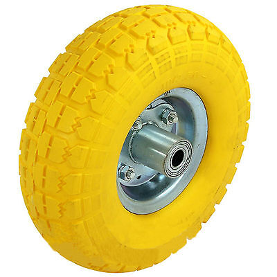 New Solid Sack Truck Tyre Replacement Wheel Trolley Cart Tire Barrow Tow Tyre