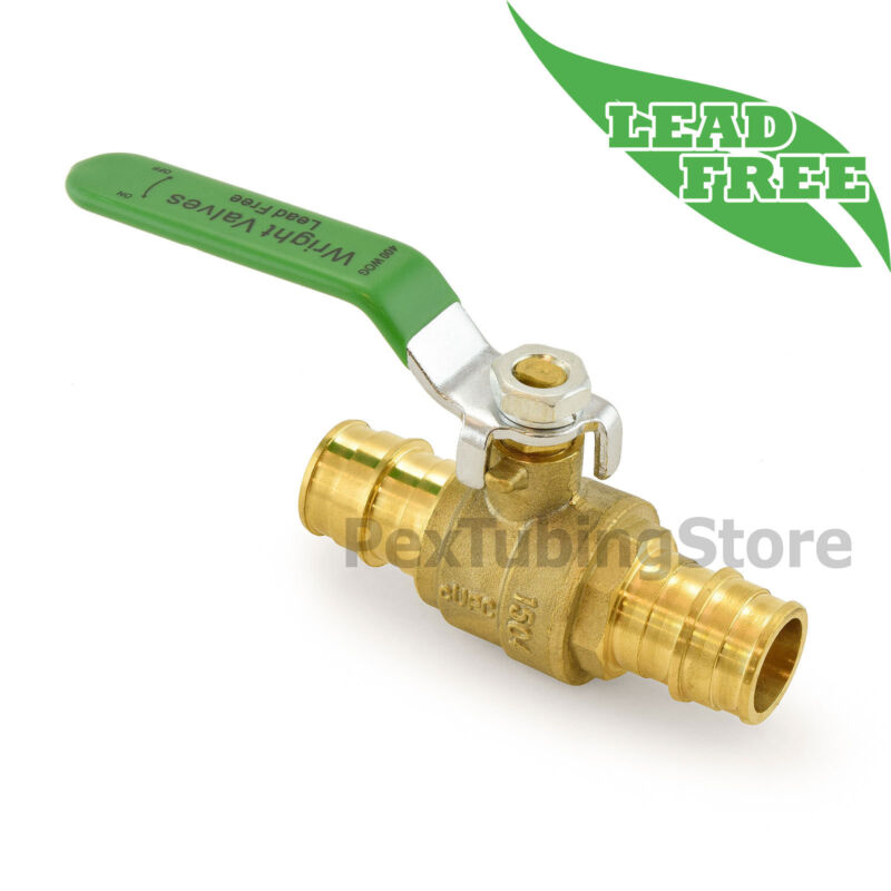 """(10) 3/4"""" ProPEX Style (Expansion) Lead-Free Brass Ball Valves for PEX-A (F1960)"""