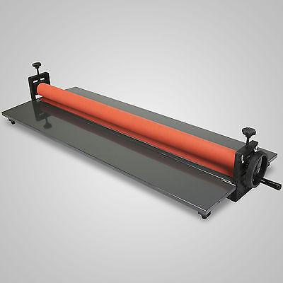 Brand New Roll Laminating Machine Cold Laminator 39 Manual Roller Desktop Y