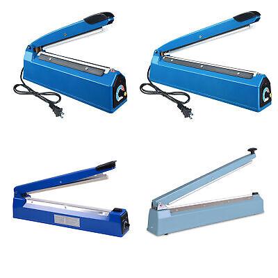 8 12 16 20 Manual Impulse Heat Sealer Poly Bag Machine Plastic Bag Closer