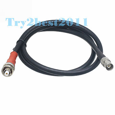 Bnc Female To Rp-bnc Male 5kv Shv High Voltage Nim Connector 75-5 Cable 6ft