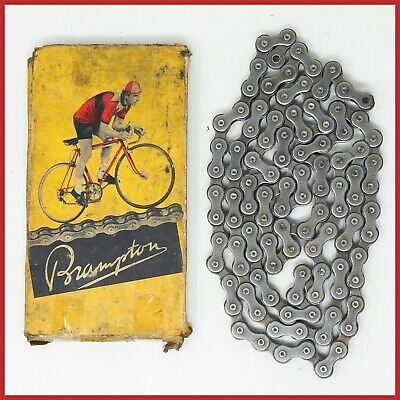 Bicycle Chain 1//2 x 3//32 Inch 120 Links Nickel Plated Bike Parts