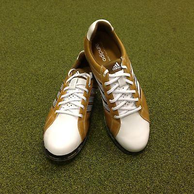 NEW Adidas Adipure Tour Leather Golf Shoes - UK Size 8.5 - US 9 - EU 42 2/3