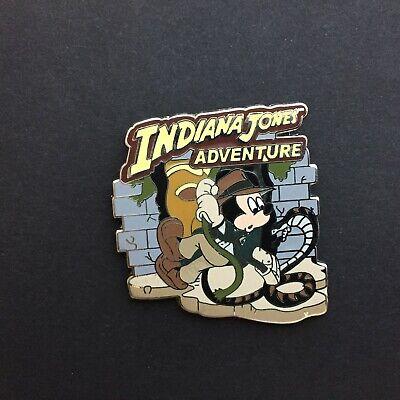DLR - Booster Set - Adventureland - Indiana Jones Adventure Disney Pin 70322