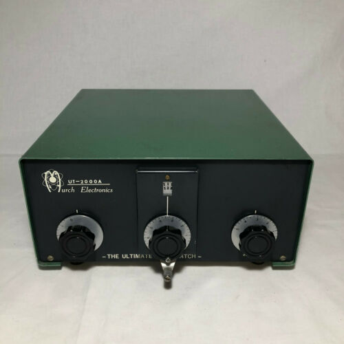 Murch Electronics UT-2000 The Ultimate Transmatch Antenna Tuner (For Parts)