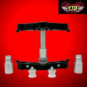 American Suspension Raked Triple tree for 23 inch wheels HD Touring 2000-2013