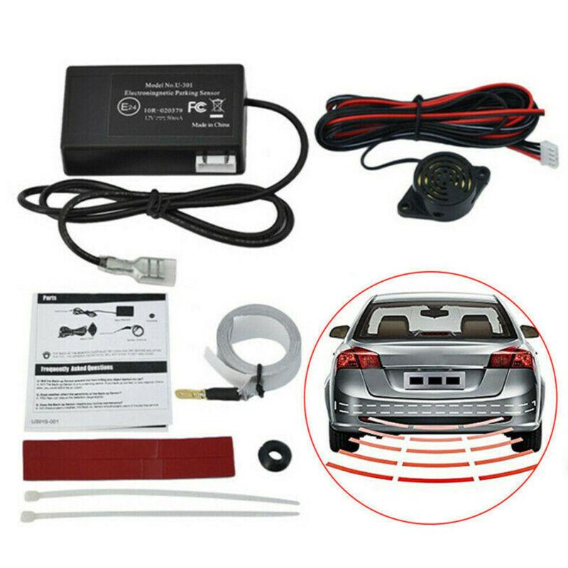 Electromagnetic Smart Car Auto Parking Reverse Backup Radar Reversing Sensor Kit