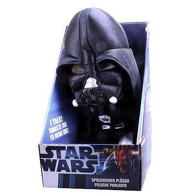 Star Wars Darth Vader Figur Sprechend Plüschtier Stofftier Kuscheltier Spielzeug