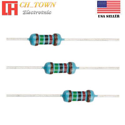 100pcs 15k Ohm Resistor Metal Film Resistors 1 Tolerance